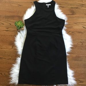 French Connection Black High neck Bodycon Dress